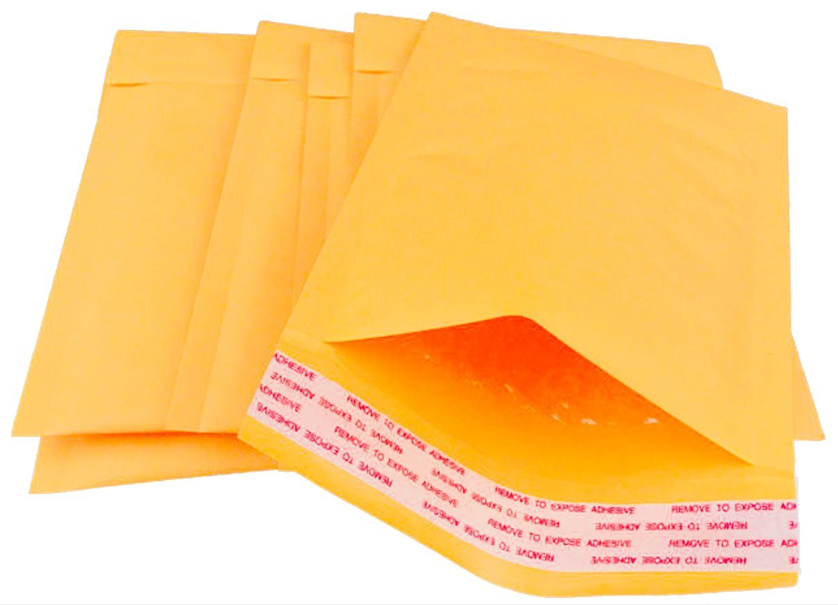 25 Pack Natural Kraft padded envelopes 8.5 x 11 Bubble Mailers 8 1//2 x11 Brown