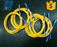 Optical fiber cable SC FC ST apc upc single mode fiber optic patch cord for CATV