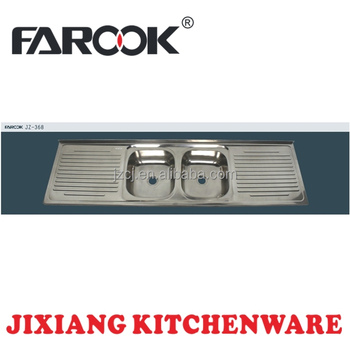 18m double bowl double drainer stainless steel kitchen sink inserts. beautiful ideas. Home Design Ideas