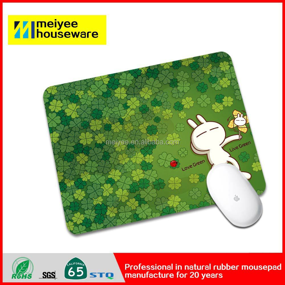 Meiyee mouse pad custom cut printed mouse pad