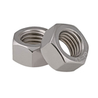 The factory produces high quality stainless steel hex nuts