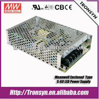 Meanwell Switch Power Supply S-60-15 60W 15V 4A Switch Power Supply,Enclosed SMPS Power Supply