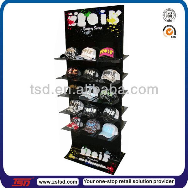 metal cap display stand