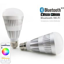 new hot products Android IOS RGBW bulb wifi controlled colorsled bulb 550 lumens wi-fi control
