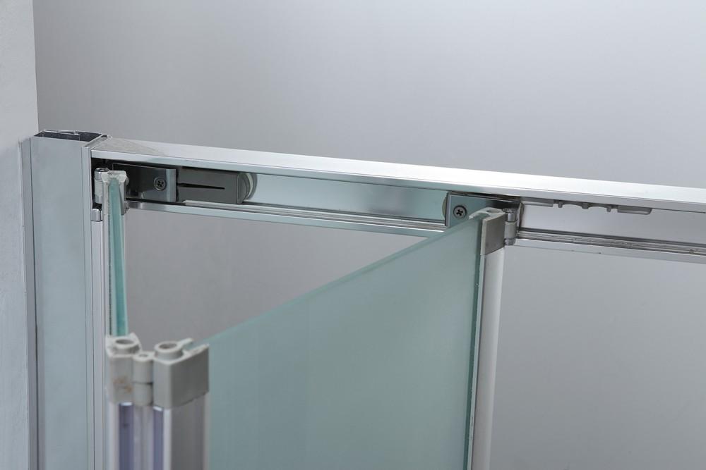KD3207C Folding Shower Screen Accordion Shower Doors Bifolding Shower Door