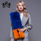 Luxury Style Whole Fox Skin Fur Unique Fashion Women Real Fox Fur Scarf