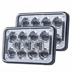 "High Quality 5"" 4X6 Inch Square LED Headlight Working Lamp for Jeep XJ YJ"