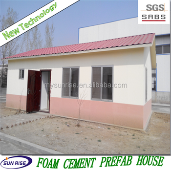 Sgs 2015 new technology low cost foam ready made house in for Styrofoam house cost