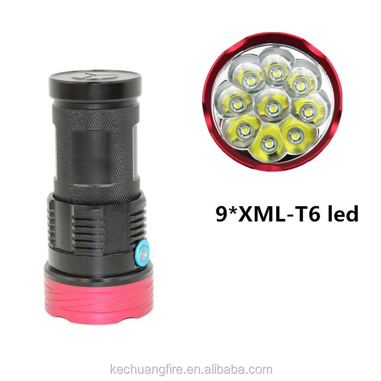 Promotional Aluminum 9 Led Flashlight/small Torch/mini Torch