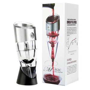 Magic Twist Adjustable Stainless Steel Wine Aerator Decanter