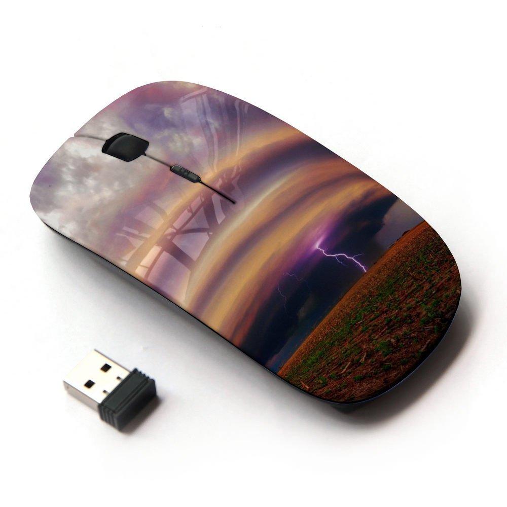 XP-Tech [ Slim Optical 2.4G Wireless Mouse Mice With Nano Receiver for PC Desktop Computer Laptop ] - Storm