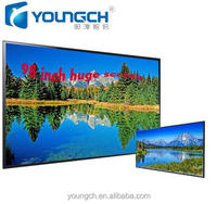 Huge tft display ultra high resolution amazing clear picture 100 inch lcd 3d tv