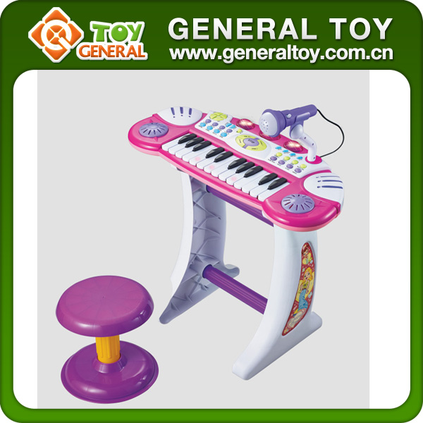 49.5*21.5*58cm Plastic Musical Instrument Electronic Musical Keyboard Piano Keyboard