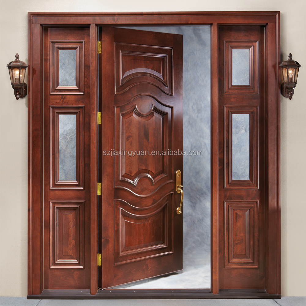 Villa main door solid wood security villa double leaf door design - Main Door Wood Carving Design Main Door Wood Carving Design Suppliers And Manufacturers At Alibaba Com