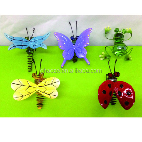 Garden Landscaping Decking Metal Garden Insect Decoration Factory