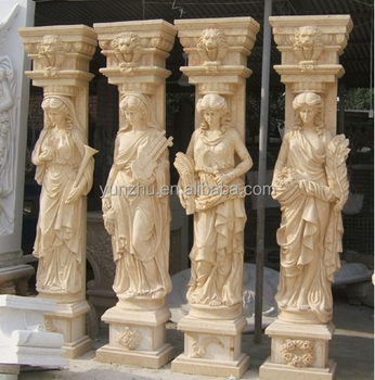 Beige travertino columnas romano columnas y pilares for Pilares y columnas