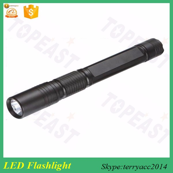 LED Waterproof Rechargeable Aluminum Flashlight