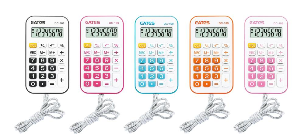 2018 New Cheap Rubber Keys Pocket Calculator 8 Digits Mini Electronic Calculator