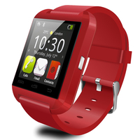 Hot Selling White Red Black Color BT U8 Cheap Smart Watch