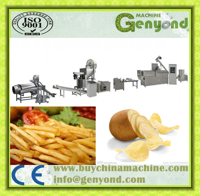Stackable Potato Chips Production Line/stackable Potato Chips ...