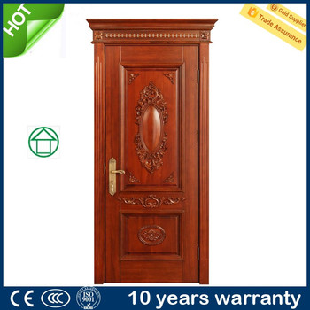 Customized House Deisgn Carved Indian Main Door Design Solid Wood ...