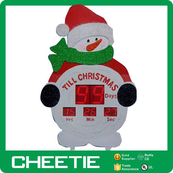 Countdown To Christmas Sign.Home Wall Hanging Led Lights Sign Inflatable Countdown To Christmas Clock Snowman In Yard Decoration Buy Countdown To Christmas Clock Christmas