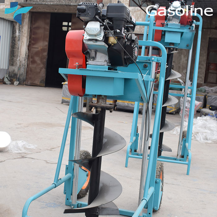 Professional Manufacturer Gasoline Small Hole Digging Tools Core Land Drilling Machine