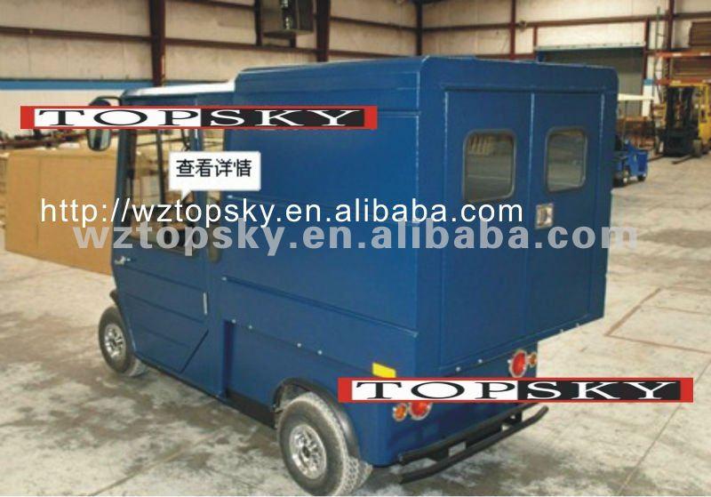 Custom Golf Cart With Cabin & Cargo Van - Buy Golf Cart,Golf Buggy on delivery cart, gem food truck cart, street cart, van pool, pushing grocery cart, crazy cart,