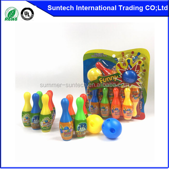 Urethane bowling set with balls for kids