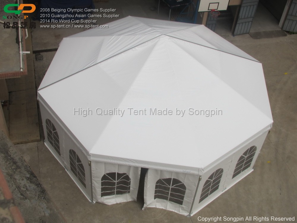 PVC waterproof circle tent 10m with strong aluminum frame & Pvc Waterproof Circle Tent 10m With Strong Aluminum Frame - Buy ...