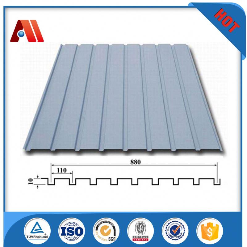 Placa de acero corrugado de cubierta de zinc galvanizado - Acero galvanizado precio ...