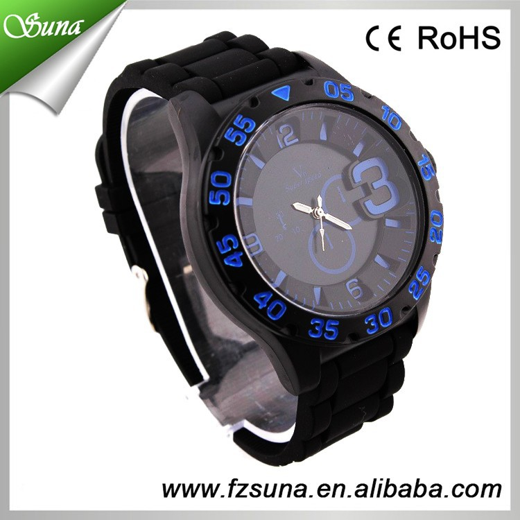 Best Selling Products Import Movement V6 Cool Man Black Sports Watch