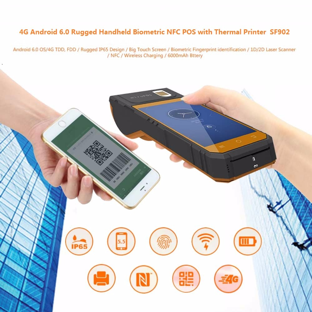 smartpeak android handheld pos terminal p8000