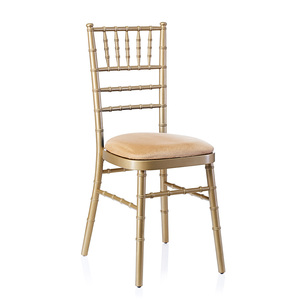Flash Furniture Elegance Stacking Golden Wedding Chiavari Chair