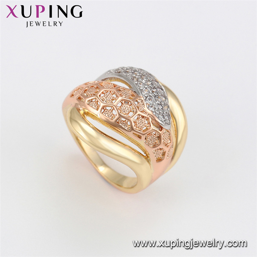 16100 Xuping latest 14k gold ring designs wholesale+new model girl ring