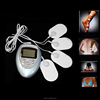 2017 New 4 Pads Full Body Massager Slimming Electric Slim Pulse Muscle Relax Fat Burner
