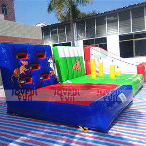 Custom Design Sport Combo Bouncer bed Basketball hoop sport table with obstacles small sport bouncer sale for kids good price