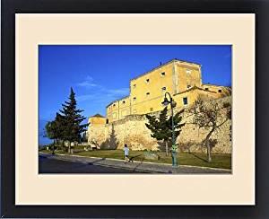 Framed Print of Old Fortress Walls, Faro, Algarve, Algarve, Portugal, Europe