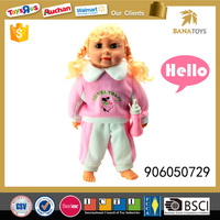 13inch baby doll wigs musical doll toy for kids