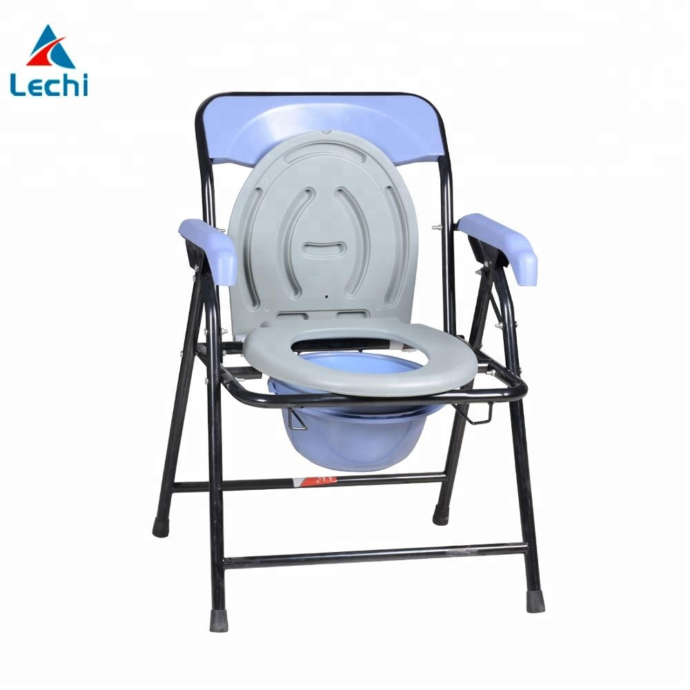 Hot sale bedside commode seat chair Economical Portable Bathroom ...