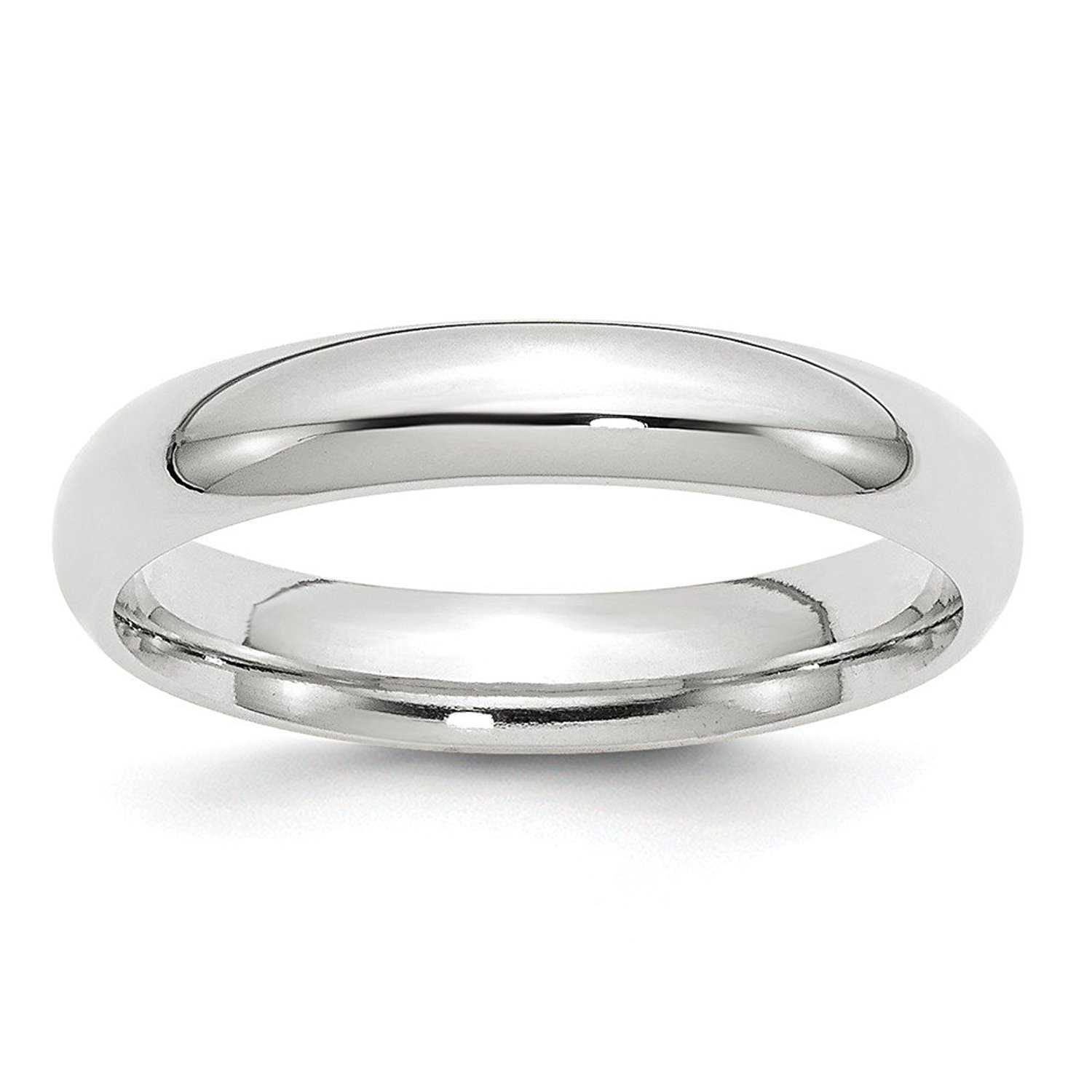 Perfect Jewelry Gift 10KW 4mm Standard Comfort Fit Band Size 9