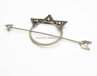 vintage gold metal hairpin hair stick wholesale supplier manufacturer