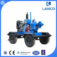 Lanco Brand High Quality 6 Inch Diesel Water Pump