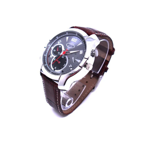 shenzhen factory 1080p leather band camera watch wrist watch hidden camera