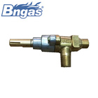 Brass gas safty valve with nozzle for BBQ grill
