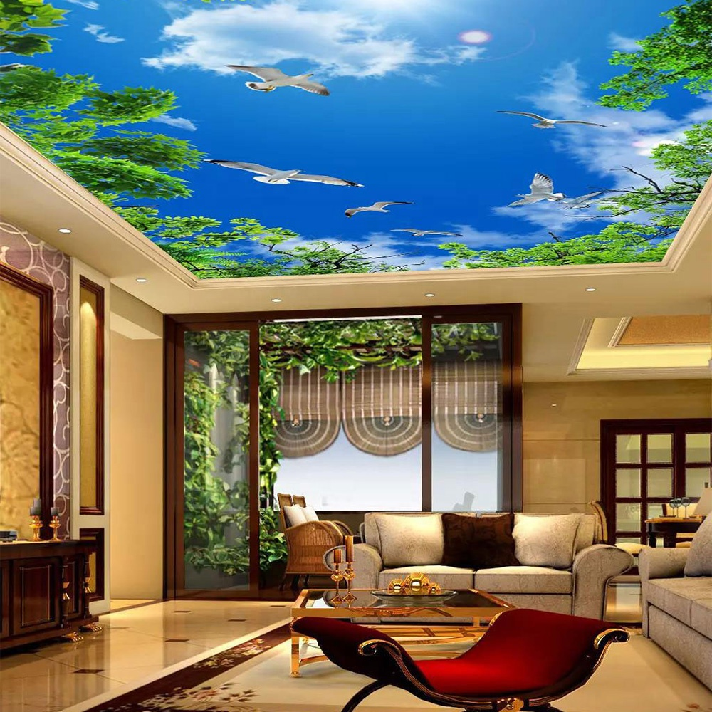 Interior Decoration 0 25mm Designs Living Room Uv Print Pvc Ceiling Film 3d Infinity Ceiling Stretch Buy Stretch Ceiling System Pvc Ceiling Price Stretch Ceiling Coffered Ceiling Shop Interior Ceiling Design Ceiling Stretch