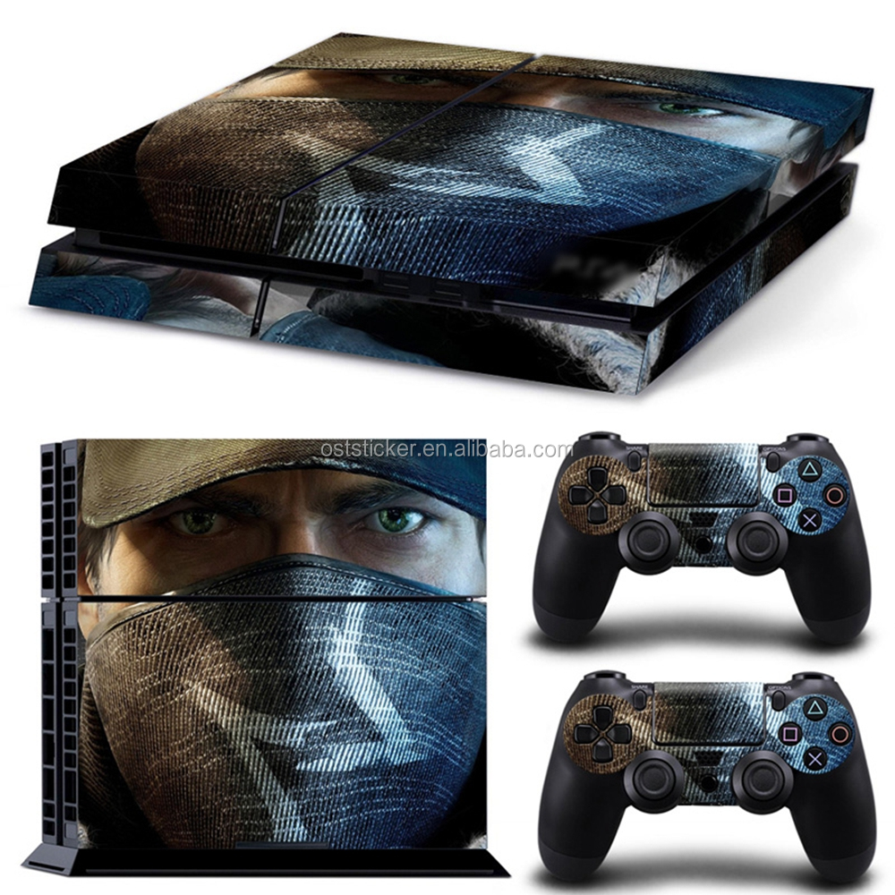 Decal Skin Sticker For Sony PS4 Playstation 4 Console +2 Stickers Controllers accessories