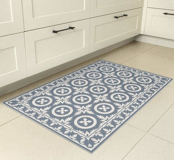 Mat With Decorative Tiles Pattern