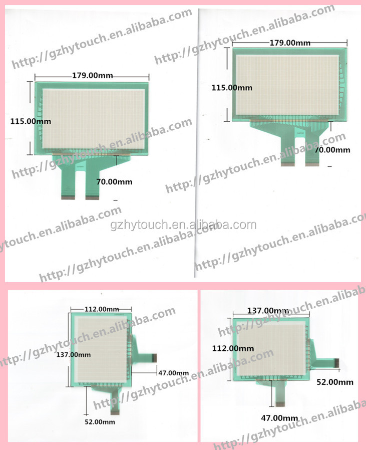 Import 6 Quot 8 Quot High Quality Gps Matrix Touch Screen