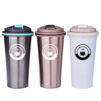 New design with customer logo vacuum cup factory price cup creative bottle design wholesale